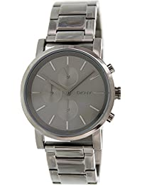 Dkny Men's Soho NY2162 Grey Stainless-Steel Analog Quartz Watch