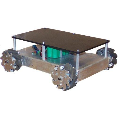 SuperDroid Robots Mecanum Wheel Vectoring Robot Platform - IG32 DM by SuperDroid Robots