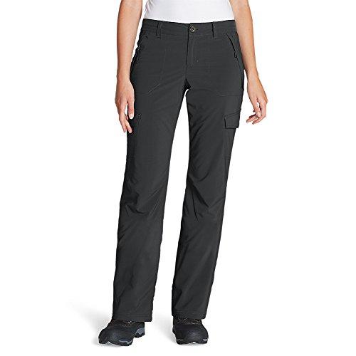 Eddie Bauer Women's Polar Fleece-Lined Pants, Gray Regular 14 ()