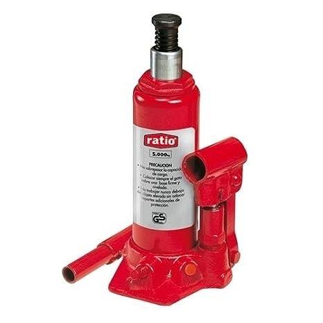 Ratio 7358H2 - Gato hidráulico de botella 2 Toneladas de elevación Ratio: Amazon.es: Bricolaje y herramientas