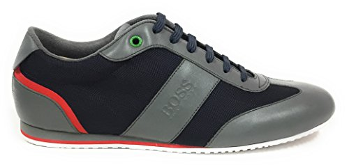 Hugo Boss Mens Shoes Sneakers Lighter Lowp Nyhr 50322388 (8 US)