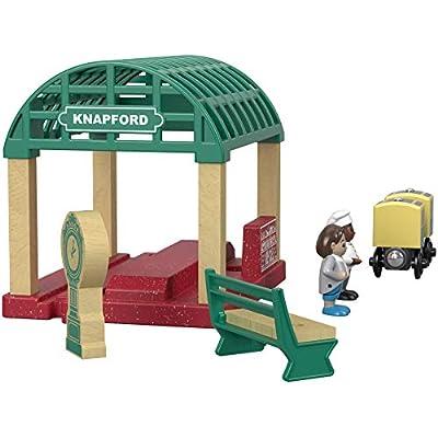 Thomas & Friends Fisher-Price Wood, Knapford Train Station: Toys & Games