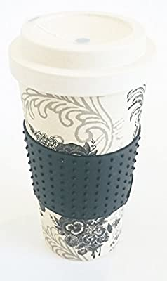 BambooMug® 20 Oz Eco-Friendly Bamboo Travel Mug (Black&White) - New!