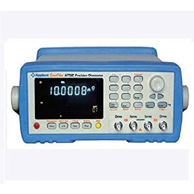 AT512 High-precision DC Resistance Meter Low Micro Ohm Meter Tester 0.1u-110M Ohm with RS232 Handler Comparator