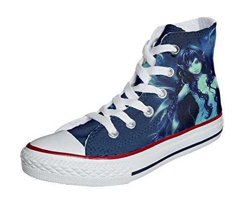 Converse Customized Adulte - chaussures coutume (produit artisanal) elf
