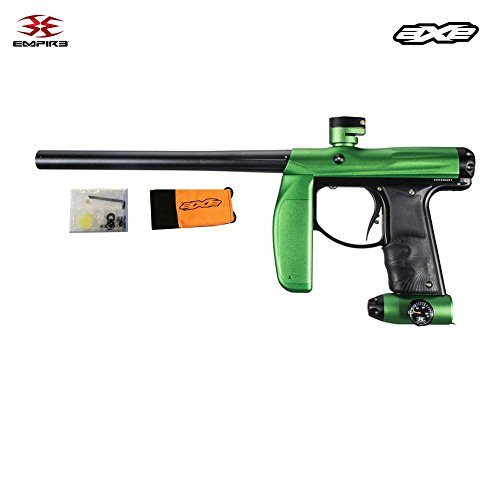 Empire Invert AXE Paintball Gun Marker - Dust Green and Black