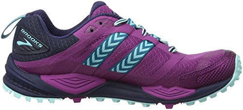 Ice Scarpe Cascadia Donna 1b533 Brooks da Trail Navy Multicolore Running Blue Plum 12 pRxwvHqf