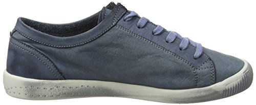 Isla Washed Blu Sneaker Donna Softinos 552 Navy gwqdagnAH