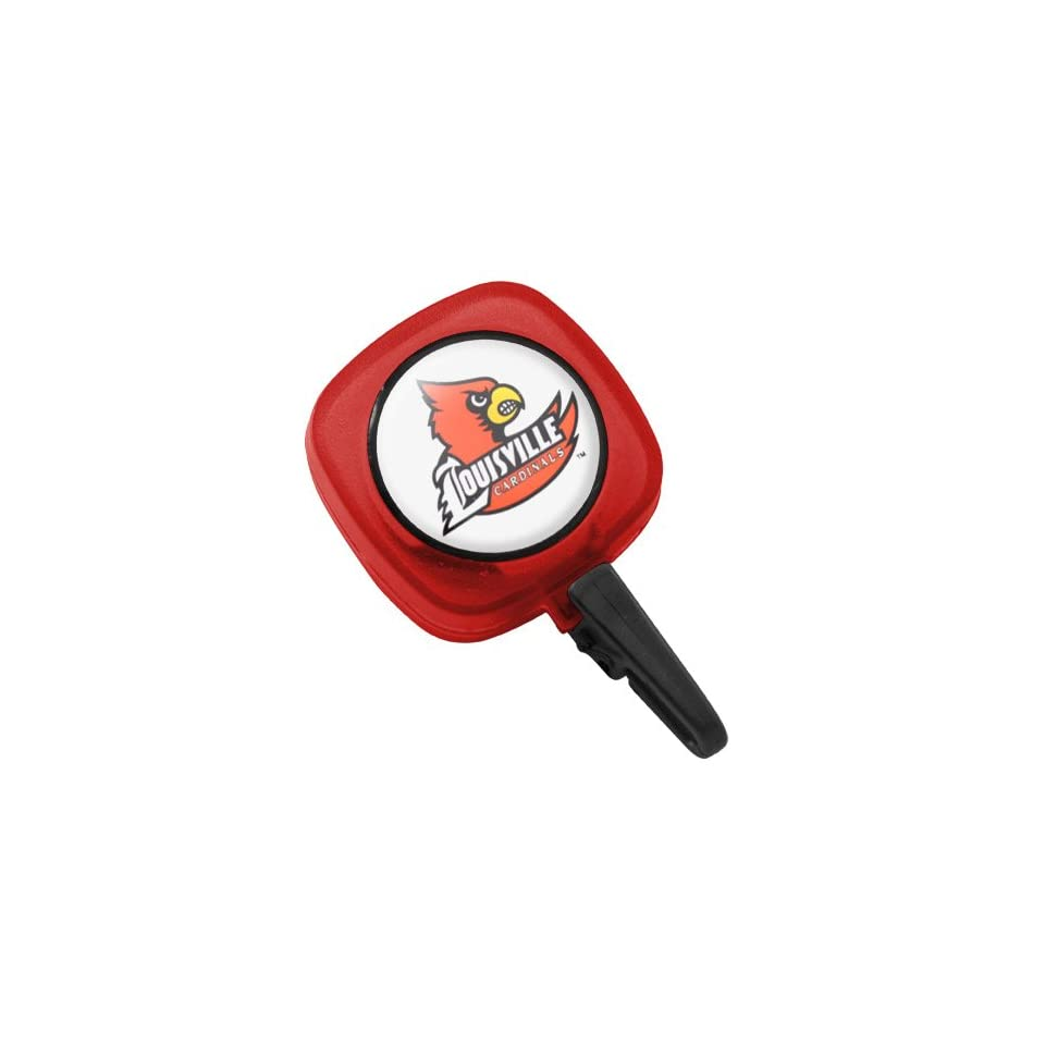 NCAA Louisville Cardinals Red ID Badge Reel