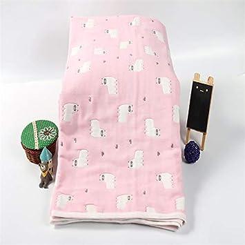 Lxryxx Toalla de baño para bebés Toalla de baño para niños Seis Capas de Gasa Gasa Toalla de Sauna Toalla de Playa Viajes, D: Amazon.es: Hogar