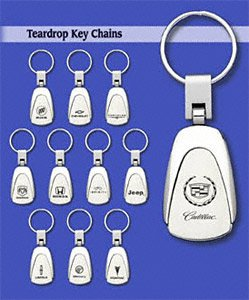 Teardrop Hummer Keychain /& Keyring