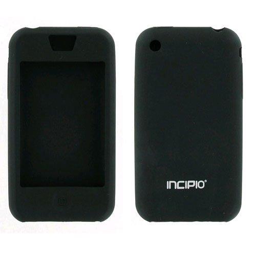 Incipio Dermashot Silicone - Incipio dermaSHOT Full Protection Case for Apple iPhone 3GS & 3G - Black