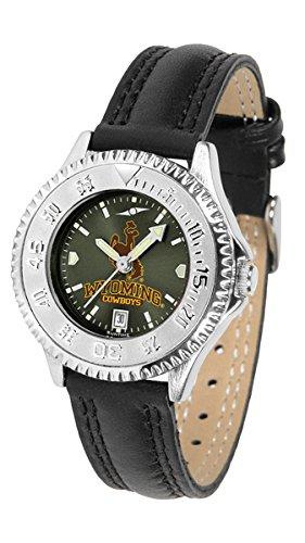 Wyoming Ladies Watch Cowboys - Linkswalker Ladies Wyoming Cowboys Ladies' Competitor Anochrome Watch