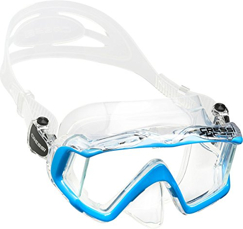 Cressi Large Wide View Mask for Scuba Diving & Snorkeling | Pano 3: designed in Italy