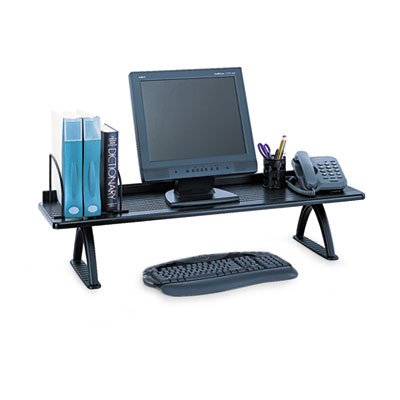 Value Mate Desk Riser, 100-Pound Capacity, 42 x 12 x 8, Black, Sold as 1 Each