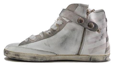 Golden Goose - Zapatillas de Piel para mujer blanco Bianco