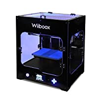 "Wiiboox ONE MINI Desktop 3D Printer, Single Extruder, 100 Microns, 7.8""x5.9""x5.9"", 1 Air Particle Filtration Module, with One Filament by Wiiboox"