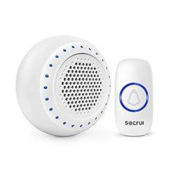 Wireless Doorbell, Secrui Waterproof Doo...
