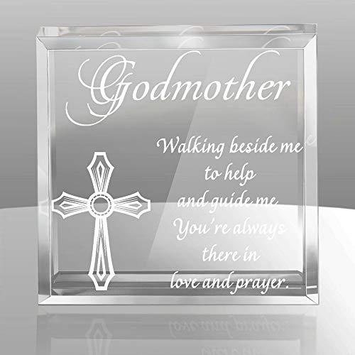 (Kate Posh - Godmother Glistening Keepsake & Paperweight)