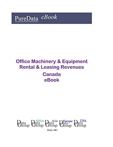 Office Machinery & Equipment Rental & Leasing Revenues in Canada: Product Revenues