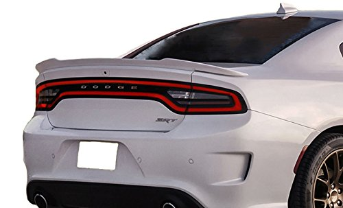 California Dream Compatible With: 2015-18 Dodge Charger Factory Style Hellcat Spoiler Painted (MATTE BLACK MTB)