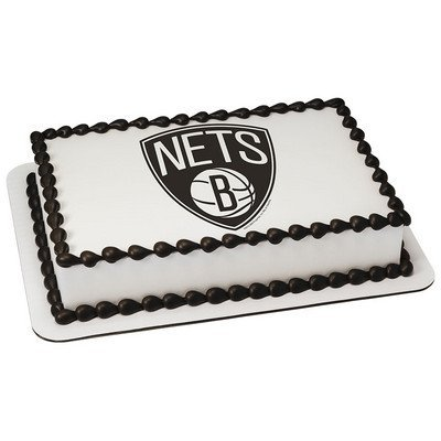 Brooklyn Nets Licensed Edible Cake Topper #16791