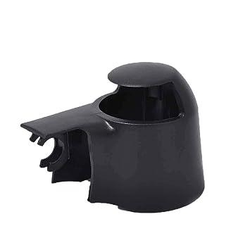 Republe Brazo del limpiaparabrisas Trasero Cap Tuerca de la Cubierta de Carrito para el Touran para Seat Leon para Fabia 6Q6955435D: Amazon.es: Coche y moto