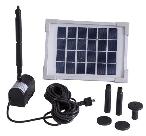 Esotec Solar Pumpensystem RIMINI S Teichpumpe Wasserspiel