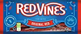 Music : Red Vines Licorice, Original Red Flavor, 5oz Tray, Soft & Chewy Candy Twists