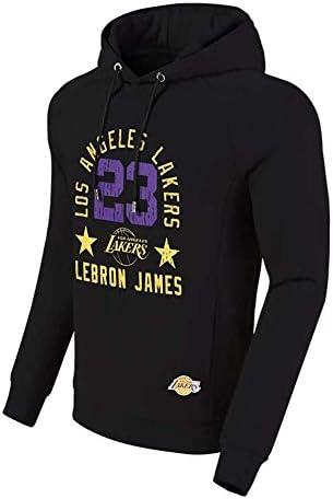 メンズフード付き記念セーター、No。23バスケットボールスウェットシャツ、フード付きプルオーバー、ファッショナブルなスポーツカーディガンセ
