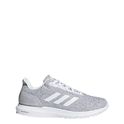 half off a69b4 b6bf8 adidas Mens Cosmic 2 Sneakers, Crystal WhiteFootwear WhiteGrey One, 9