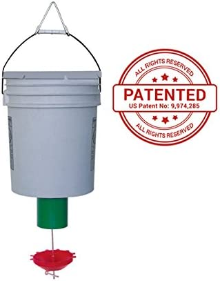 hanging automatic hen feeder