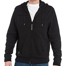 Baubax Men's Sweatshirt Travel Jacket, Black
