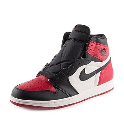 Nike Air Jordan 1 Retro High OG Bred Toe 555088 610 (11.5)