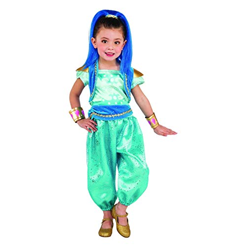 Shimmer and Shine Toddler Girls Shine Halloween Costume, 3T-4T -