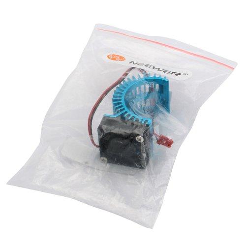 NEEWER® N10026 Aluminium Alloy Motor Heatsink With Fan For RC 540/550 Motor Blue