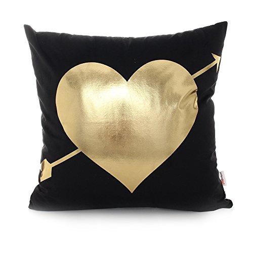 Monkeysell Bronzing flannelette decorative Cushion