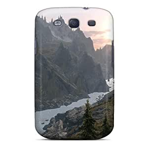 Galaxy Covers Cases - Skyrim Sunrise Protective Cases Compatibel With Galaxy S3 wangjiang maoyi by lolosakes