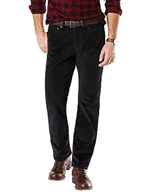 Men's Soft Khaki D1 Slim Flat Front Pant - Discontinued