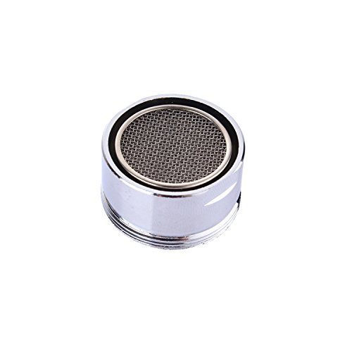 VABNEER Male Thread Low Flow Faucet Aerator 28mm Male Thread Faucet Bubbler Sink Aerator Polished Chrome 304 Stainless (Chrome Bubbler)