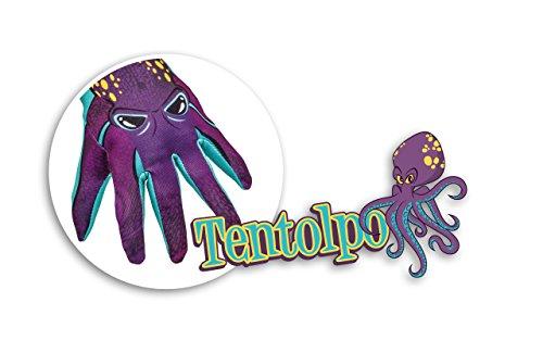 TENTOLPO - Gants Jeu avec Poulpe Design