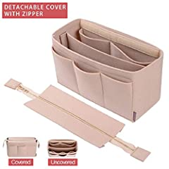 New & Exclusive DIY Design from ZTUJO  Purse Organizer With Detachable Metal Cover and Inner partition to meet needs for security and more spaces Material of The Purse Organizer Insert: Felt FabricWhy choose ZTUJO organizer?1 :Ever freake...