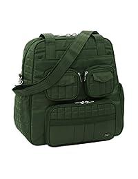 Lug Puddle Jumper Overnight Gym Bag, Olive Green, One Size
