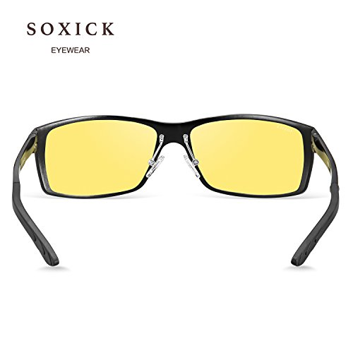 SOXICK 2018 New Style Night Driving Glasses - Anti-glare HD Vision - Safety Night Vision glasses for Men and Women (3) by SOXICK (Image #5)