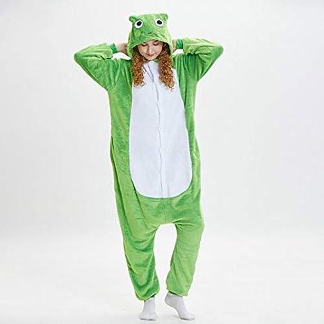 SOHOH Pijama Unicornio Adulto Rana Kigurumi Onesie Animal de ...