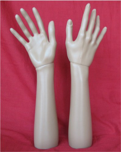 14.6 Inch 37cm Female Right Hand Mannequin Jewelry Display Stand Model Dummy Torso