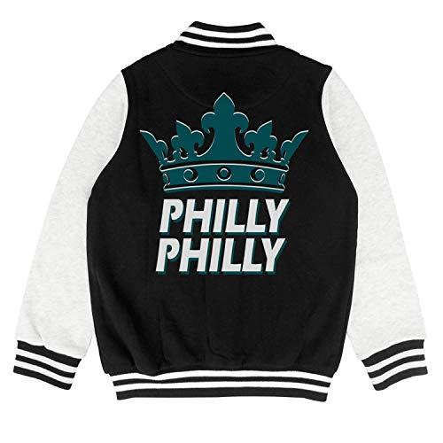 (CALM FOX Kids Baseball Uniform Kids Philly-Philly-Philadelphia-Crown- Coats)