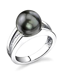 10mm Tahitian South Sea Cultured Pearl Kasandra Ring