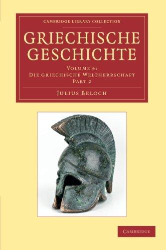 Download Griechische Geschichte (Cambridge Library Collection - Classics) (Part 2) (German Edition) ebook