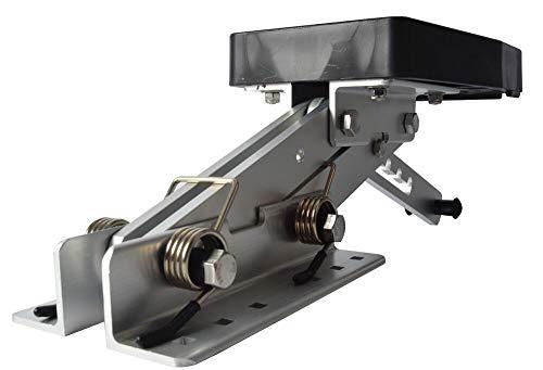 (Workshop Equipment Heavy Duty Aluminium Marine Outboard Auxiliary Boat Motor Bracket Up to 20HP US)